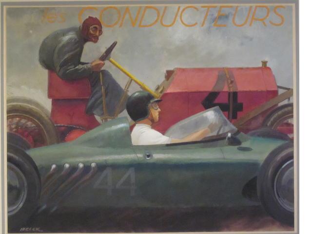 "Peter Helck: ""Les Conducteurs"","