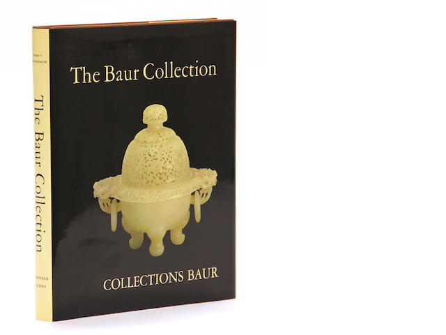 Two volumes of the Baur Collection