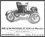 c.1904 Buckmobile Twin Cylinder 15hp Runabout  Chassis no. 244