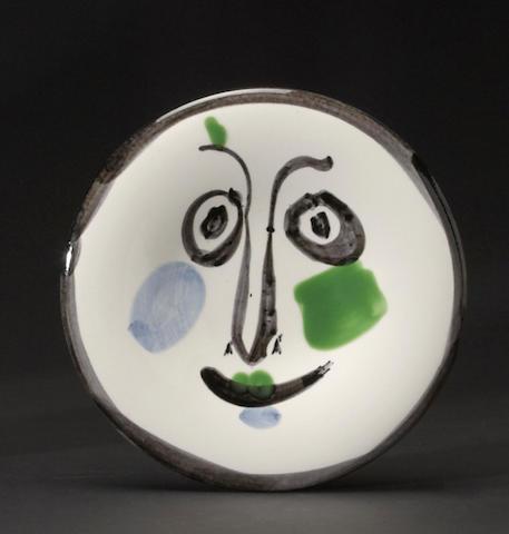 Pablo Picasso (1881-1973); Face no. 197;