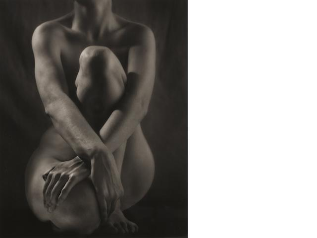 Ruth Bernhard (1905-2006); Classic Torso with Hands;