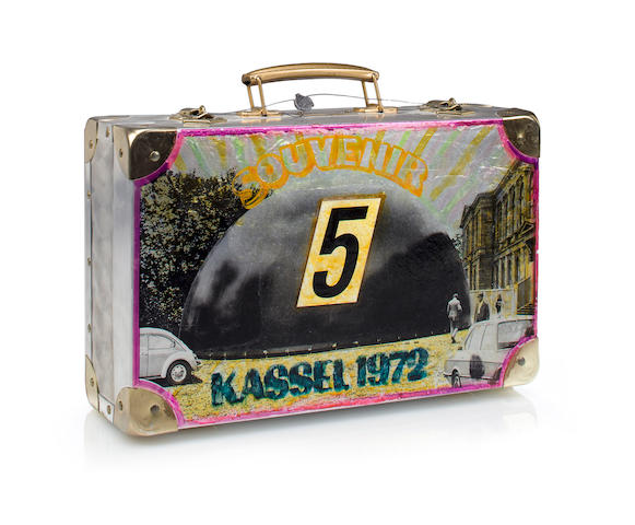 Edward Kienholz (1927-1994) Souvenir from Documenta 5 Kassel, 1973 11 3/4 x 15 5/8 x 4 3/4in. (29.8 x 39.7 x 12cm)