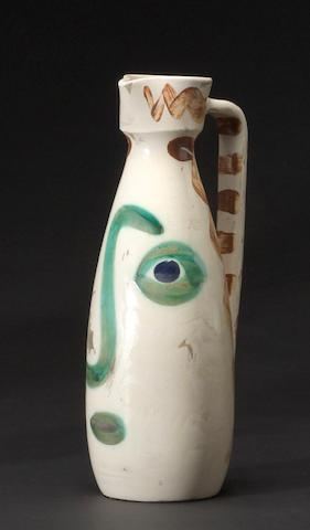 Pablo Picasso (1881-1973); Face;