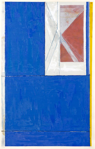 Richard Diebenkorn (1922-1993); Blue;