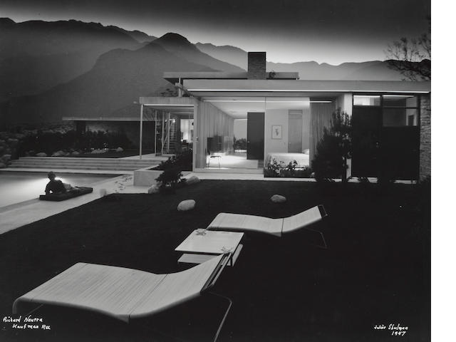 Julius Shulman (1910-2009); Kaufman House, Richard Neutra, Palm Springs, California;