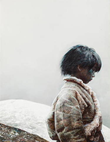 Ai Xuan (born 1947) Wind from the Valley, 1988 36 x 28 1/4in. (91.4 x 71.7cm)