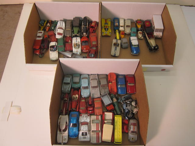 A toy car accumulation,
