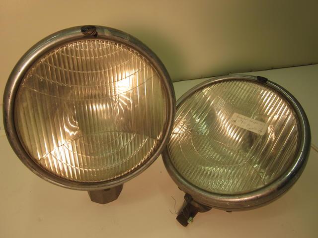 A pair of model 75 Chrysler head lamps, c. 1929,