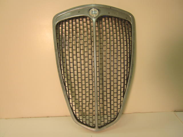 A grille for a Lancia Aurelia Coupe,
