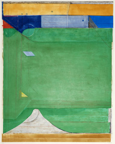 Richard Diebenkorn (1922-1993); Green;
