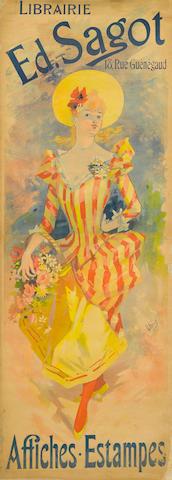 Jules Chéret (1836-1932); Librarie Ed. Sagot, Affiches-Estampes;