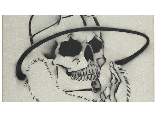Chaz Boj&#243;rquez (American, born 1949) Se&#241;or Suerte <BR />