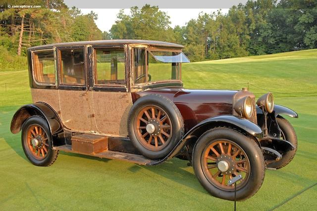Timewarp example, in long term family ownership,1918 Panhard-Levassor Limousine