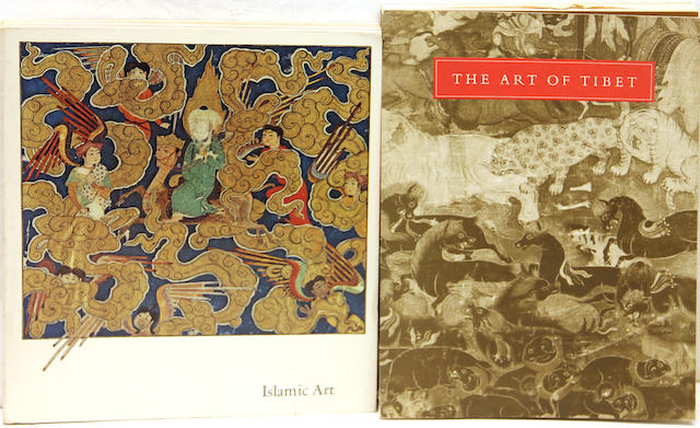 A group of thirty books and exhibition catalogues on the arts and cultures of Asia