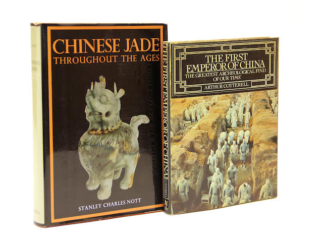 A group of books on the arts and crafts of China