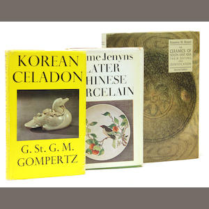 A group of books on the arts of China and Korea