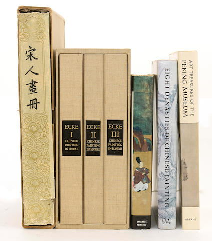 A selection of books on the arts of China and Japan