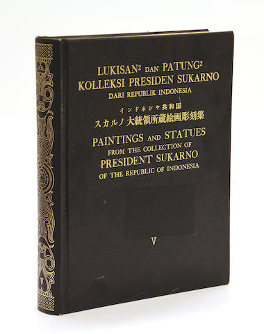 An illustrated five-volume set on the Sukarno art collection