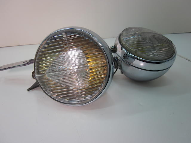 A set of Marchal fog lamps,