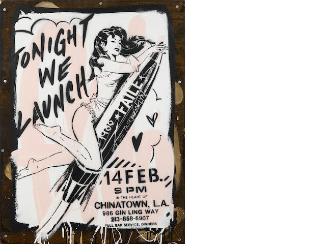 Faile (American, Canadian, founded 1999) Tonight We Launch