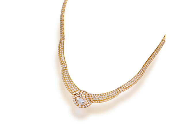 A diamond necklace, Boucheron