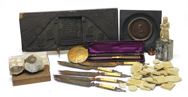 An assembled grouping 18/19th century