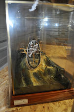 "A diorama ""The Designated Hour""<BR /> 28 x 14 x 18 in. (71.1 x 35.5 x 45.7 cm.) cased."