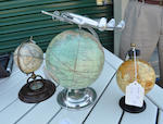 A group of three desk globes<BR /> Modern, 20th century 3
