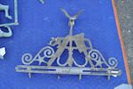 A group of three copper and iron weathervanes late 19th/early 20th century