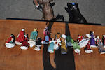 Thirteen Royal Doulton glazed earthenware  figures<BR />20th century
