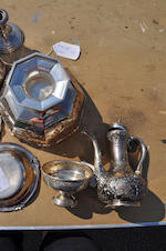 A miscellaneous group of various sterling silver table articles late 19th century and later