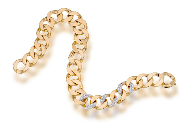 An eighteen karat gold and diamond convertible necklace, Tiffany & Co.