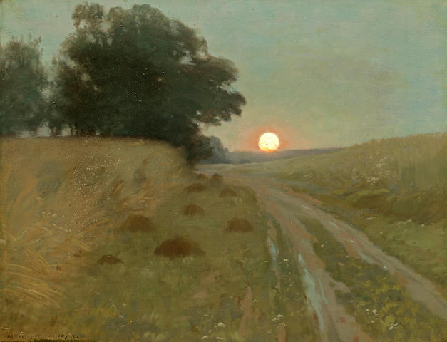 Alexis J. Fournier, painting, o/c