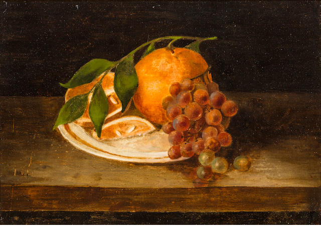 Rubens Peale, oil on tin