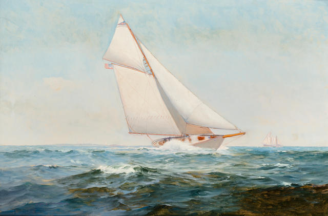 Warren Sheppard, Gaff rigged sailboat