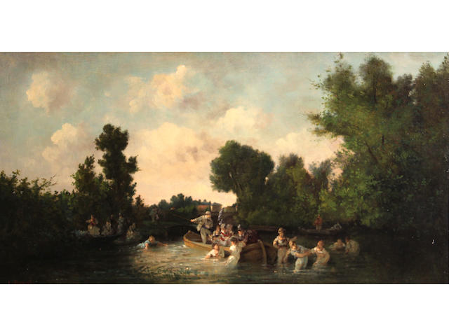 L. Benat, Figures bathing