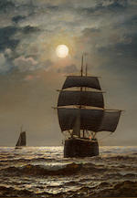 Henry Pember Smith, Moonlit Sail