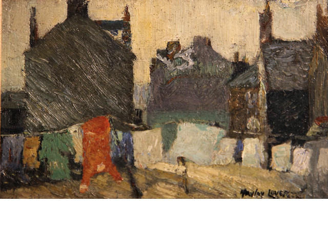 Hayley Lever (American, 1875-1958) Views of St. Ives, Cornwall (a pair) each 6 1/4 x 9 1/4in