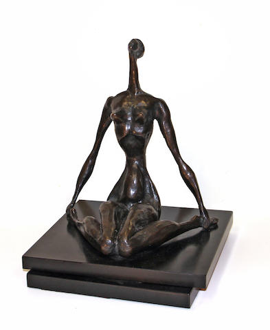 Doris Caesar, Woman figure, bronze