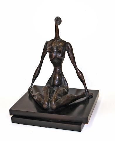 Doris Caesar, Woman figure, bronze