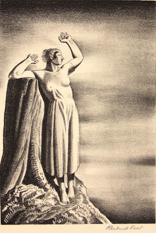 Rockwell Kent (American, 1882-1971); Farewell;