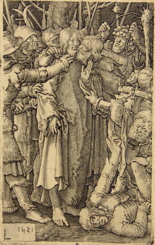 Hans Sebald Beham (German, 1500-1550); Lucas van Leyden (Dutch, 1494-1533) Rhetorica, from Seven Liberal Arts; The Betrayal of Christ, from The Passion; (2)