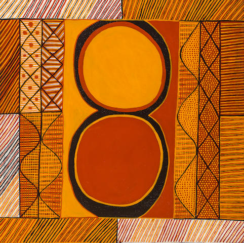 Kenny Brown, (b. 1961) KULAMA – Initiation/Yam Ceremony, 2003