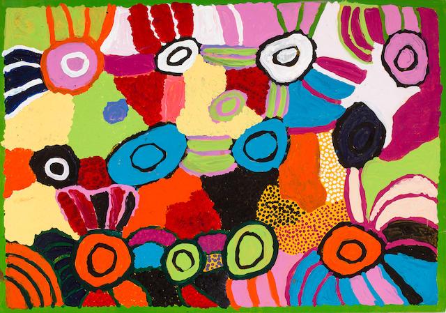 Ngiyu Watson (born ca. 1940's) Mamutjara, 2002