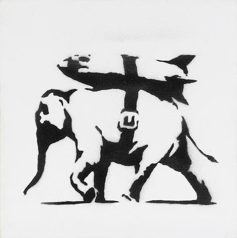 Banksy (British, born 1975) Heavy Weaponry<BR />