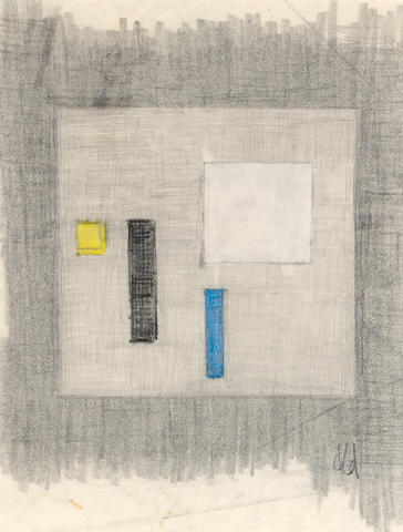 Burgoyne Diller (American, 1906-1965) Untitled, 1961