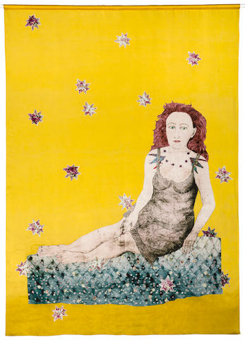Kiki Smith, Maiden with Snake