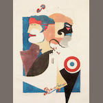 Richard Lindner (American, 1901-1978) Print