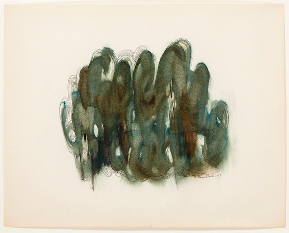 Norman Lewis (1909-1979) Untitled, 1951 30 3/4 x 25in. (78.1 x 63.5cm)