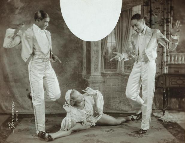 James  Van Der Zee (1886-1983) Tap Dance Team 7 1/4 x 9in. (18.4 x 22.9cm)